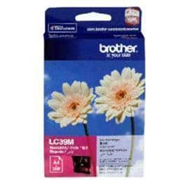 Brother Ink Cartridge LC39M Magenta Inkjet 260 pages 1/Pack OEM