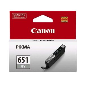 CANON Ink Cartridge CLI651GYOCN Grey 330 pages (STD)