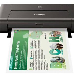 Canon iP110 A4 Portable Inkjet Printer